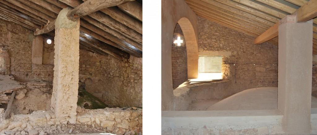 Cubierta y cúpulas Iglesia del convento de San Francisco de Beniganim rehabilitadas por COPRUSA Ingeniería y Construcción