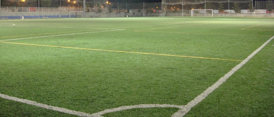 Campos de fútbol homologados FIFA en Gandia.
