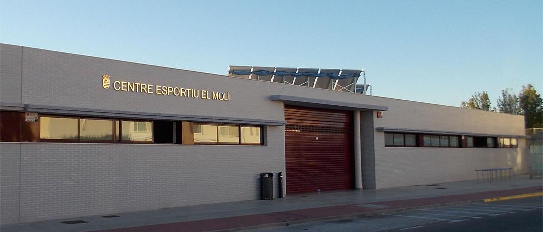 Centro Esportiu El Molí en Miramar construido por COPRUSA Ingeniería y Construcción, SLU.