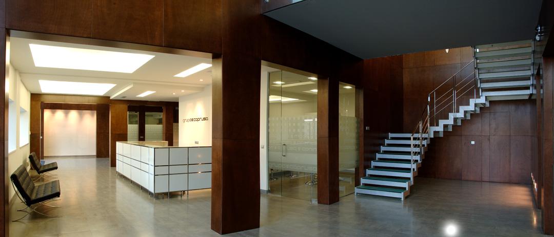 Oficinas centrales COPRUSA Ingeniería y Construcción SLU.