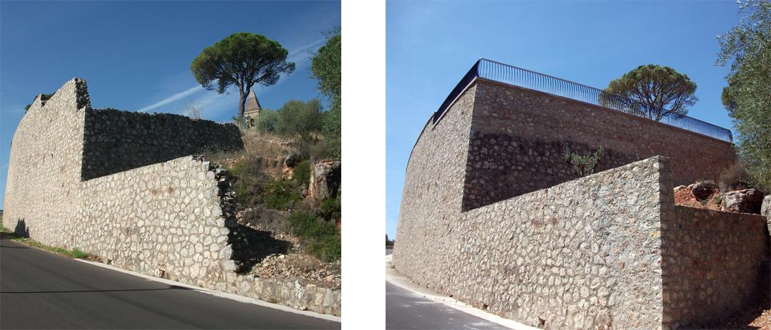 Mirador de 'la Muntanyeta del Salvador' en Alzira, rehabilitado por COPRUSA Ingeniería y Construcción SLU