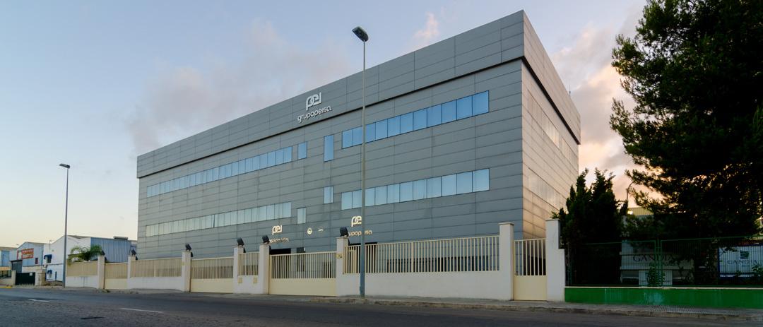 Oficinas Centrales de PEISA, construida en Gandia por COPRUSA Ingeniería y Construcción SLU