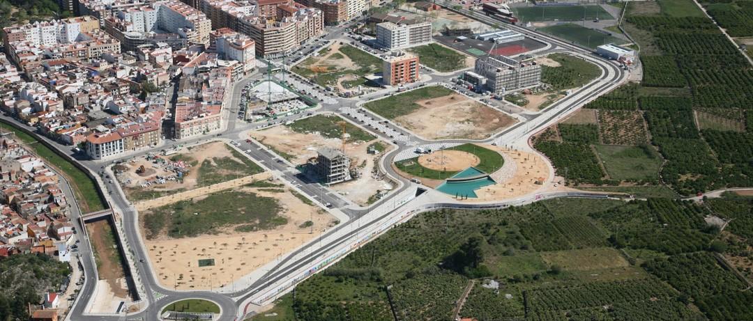 Sector Beniopa-Passeig en Gandia construido por COPRUSA Ingeniería y Construcción