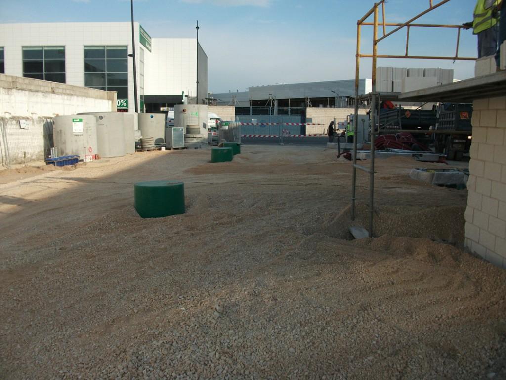 Trabajos estación de servicio AutoNet en Gandia por COPRUSA Ingeniería y Construcción, SLU