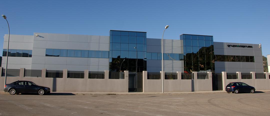 Oficinas centrales COPRUSA Ingeniería y Construcción SLU en Palma de Gandia